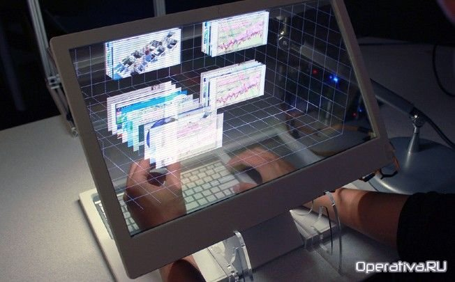 Наностекло - прозрачный экран. Технология прозрачных дисплеев